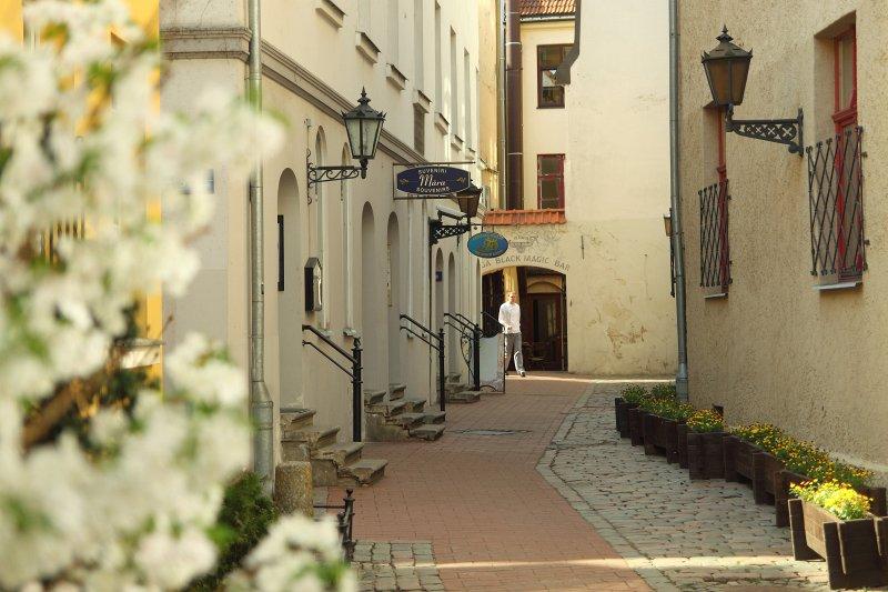 Old Riga. Convent Yard. Photo: Toms Grīnbergs, LU Press center